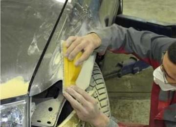 Технология шпаклевания автомобиля: практические советы как зашпатлевать и бампер и металл своими руками