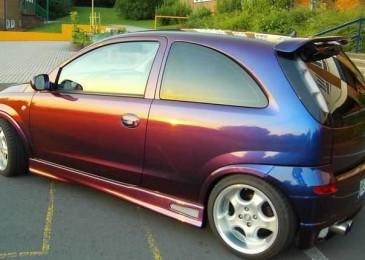 Меняем цвет кузова авто: применение современной парамагнитной краски