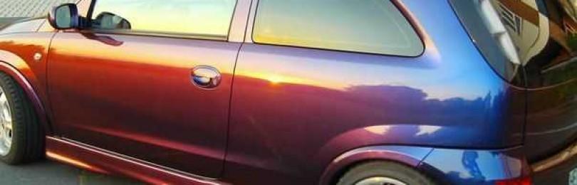 Меняющая цвет краска – современные технологии окрашивания автотранспорта