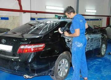 Правильная полировка автомобиля после покраски своими руками