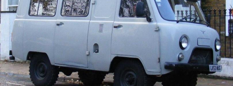 Самостоятельный ремонт и покраска кузова легендарного УАЗа «буханки»