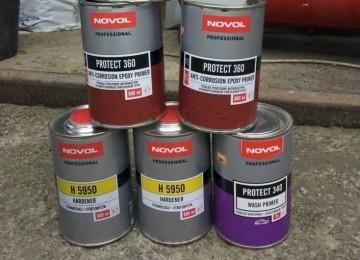 Защищаем автомобиль с помощью эпоксидных и кислотных грунтов Novol Protect