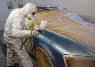 Как красить автомобиль пульверизатором