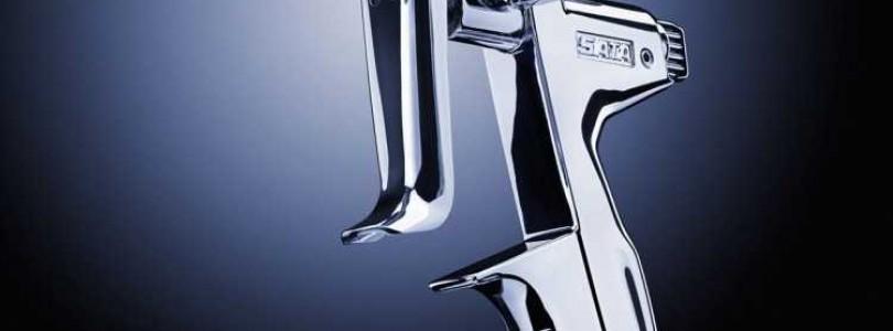 Использование краскопульта Sata Jet 4000 HVLP для окрашивания автомобиля