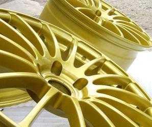 Порошковая технология покраски дисков предлагает огромную политку цветов