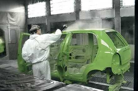Для качественного ремонта нужно хорошее оборудование для покраски автомобиля