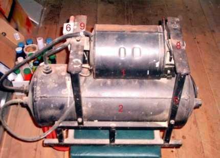Самодельный компрессор воздушный : 2 - ресивер