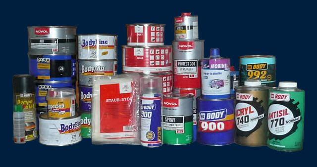 Расходные материалы для покраски