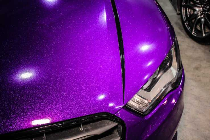 Перламутровая краска на кузове ТС