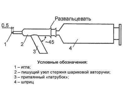 Схема агрегата