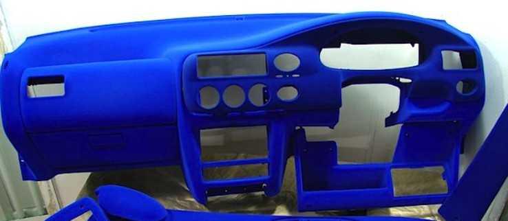 Торпедо авто в синий цвет