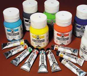 Второй этап обучения будет заключаться в выборе красок