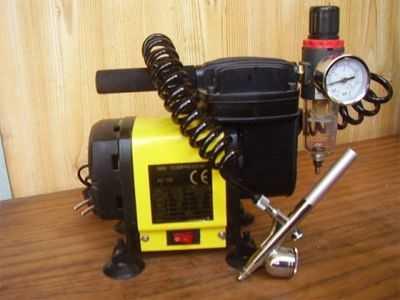 Мини-компрессор заводской для аэрографа