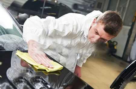 Покрытие авто защитной полиролью