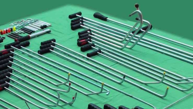 Набор крючков для удаления вмятин