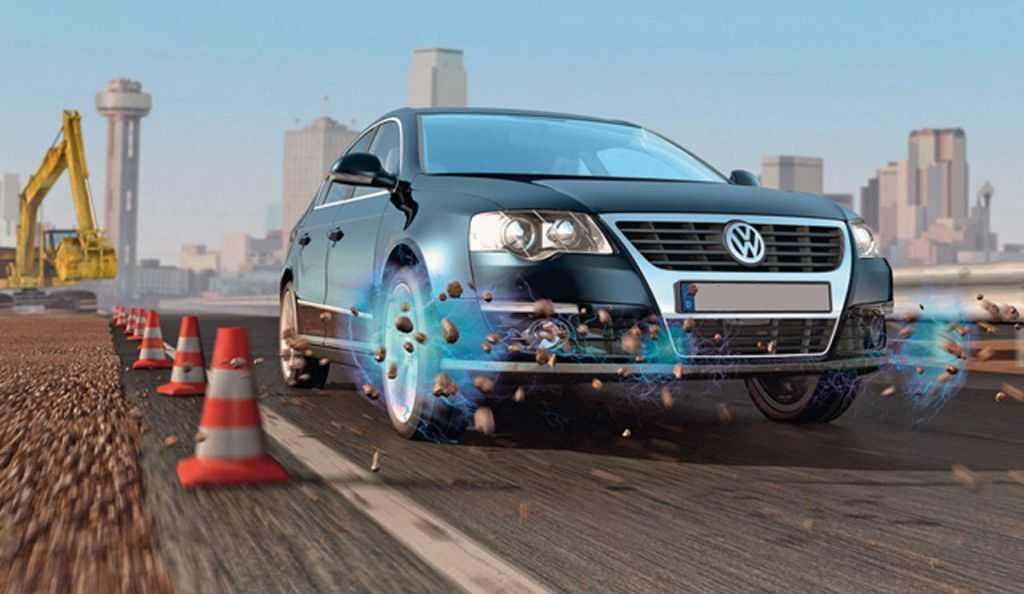 Отлетающие от колес камни вредят ЛКП машины