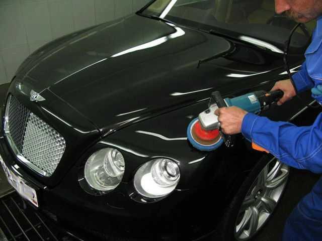 Использование болгарки для полирования кузова машины