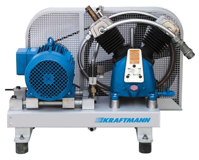 Профессиональная модель компрессора фирмы Kraftmann