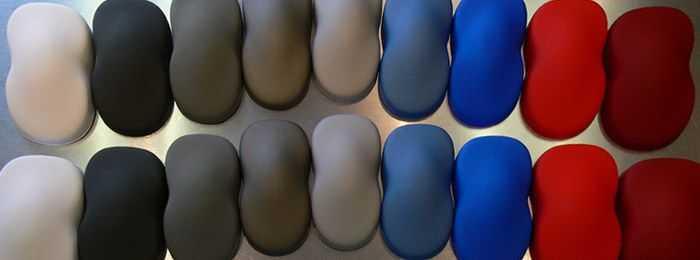 Цветовая гамма специальной краски для пвх