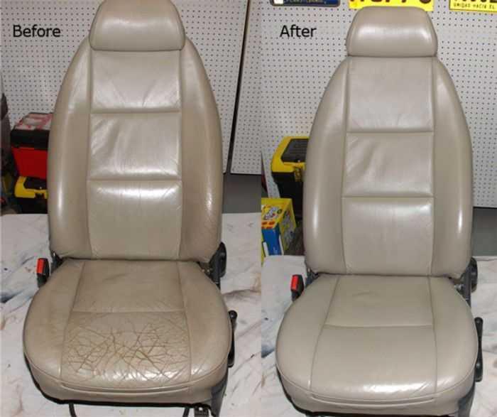 Кресло после ремонта выглядит как новое