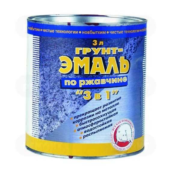 Популярная марка эмали по ржавчине