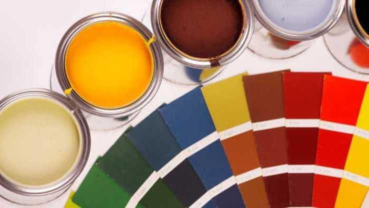 Подбор цвета эмали
