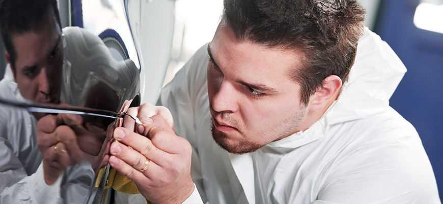 Мелкие повреждения можно устранить полировкой
