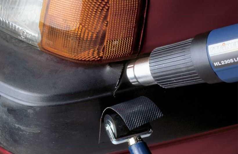 Бампер является уязвимой частью кузова авто