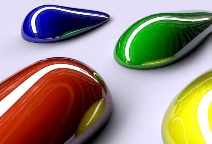 Образцы краски н автомоделях