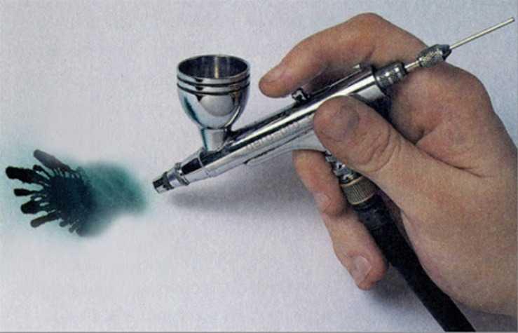 Урок рисования аэрогафом