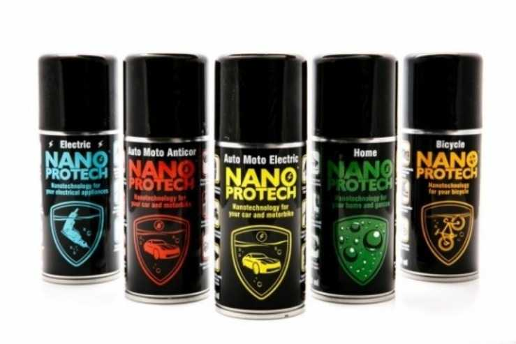 Антикоррозионное средство NanoProtech