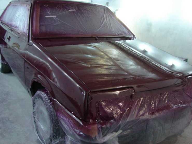 Покраска кузова ВАЗ 21099