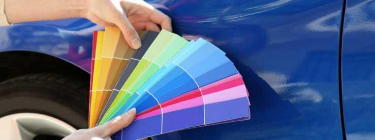 Цветовая палитра красок для кузова авто