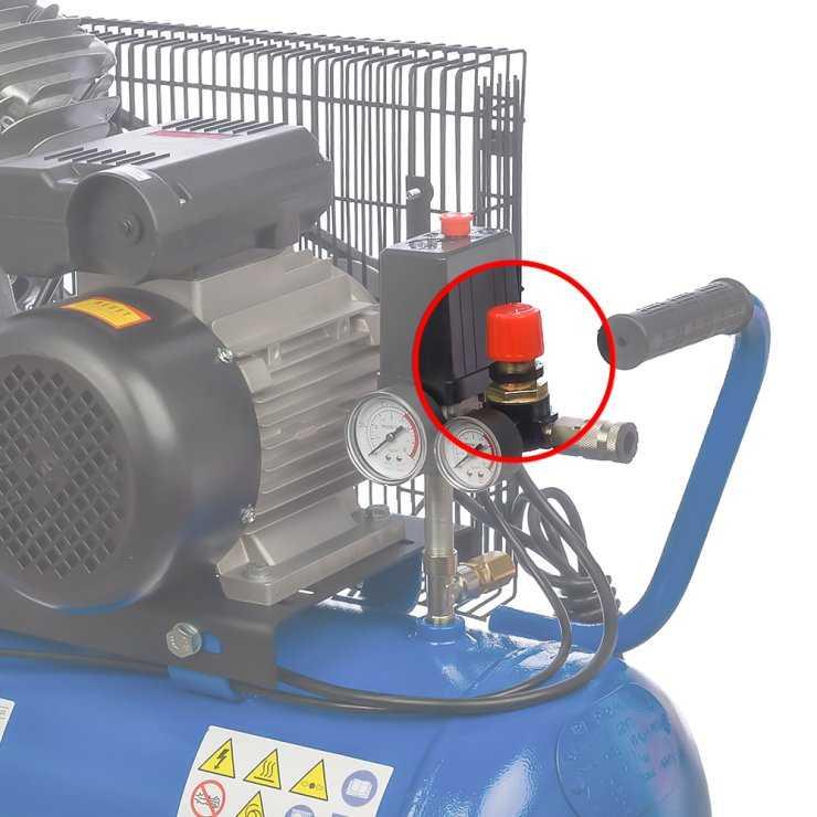 Реле давления на компрессоре