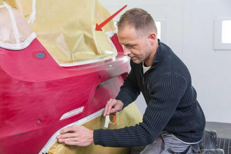 Обклейка и подготовка кузова к покраске