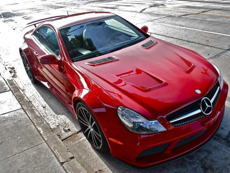 Авто покрашено в красный металлик