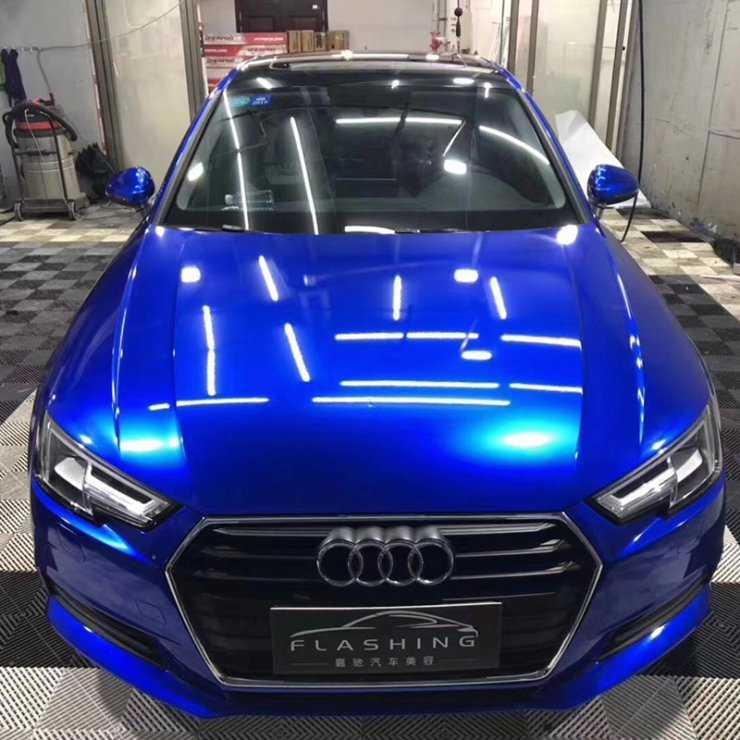 Цвет кузова синий металлик