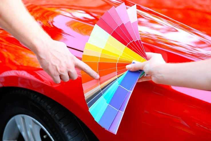 Подбор цвета краски