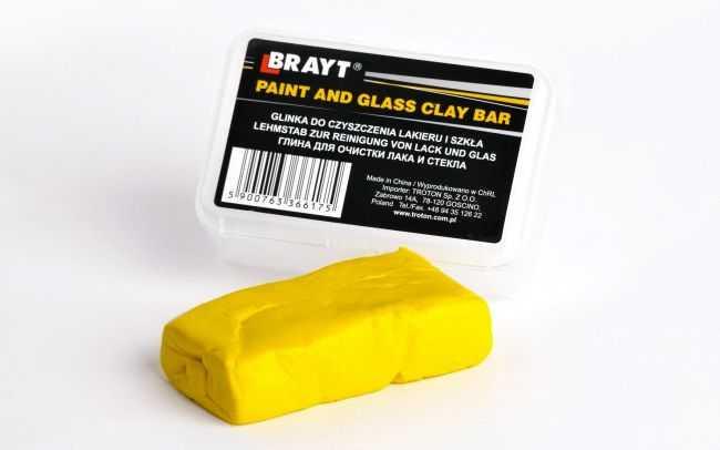 Желтая глина для очистки