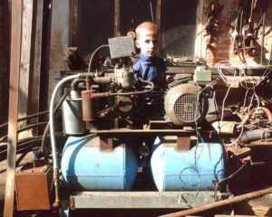 Еще один полупрофессиональный компрессор, собранный своими руками