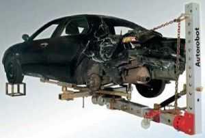 Подъемник для кузовного ремонта авто